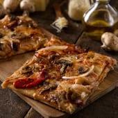Pizza vegetariana grande (35 cm.)