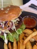 Pikantan tuna burger