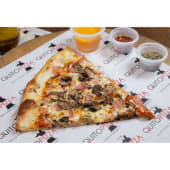 Pizza clásica de jamón y champiñones (33 cm.)
