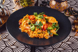 Special Yellow Curry with Egg Stir Fry