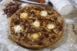 Pizza chistorra (30 cm.)