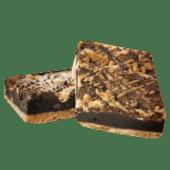 Brownie caramelo
