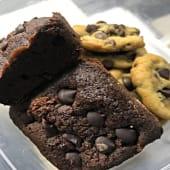 Brownie, Cookies, Brookies