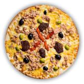 Pizza Tonyina amb Olivada (petita)