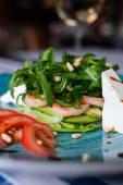 Салат з креветкою, авокадо та сиром Фета  (260г)