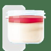 Десерт Малиновий нуаж з маскарпоне