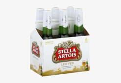 Cerveza Stella Artois Sixpack Bot 330 Ml