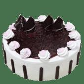 Blue berry cake slice