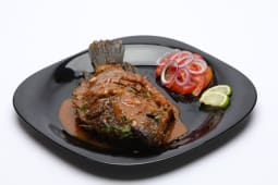 Tilapia with pilau