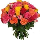 Ramos 6 rosas variadas