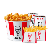 Bucket 12pz Tender Crispy + 3 salse