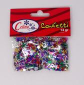 Confeti 14Gr Letras 8X8Mm Ref.050-0085