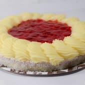 Torta de frutilla con chantilly (1 ud.)