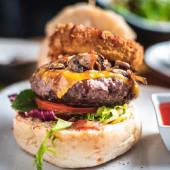 BBQ Texas burger