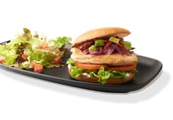 Aguacate Chicken Burger