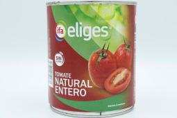 Tomate Natural Entero Eliges 480 Gramos.