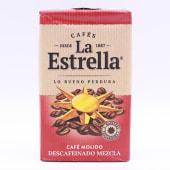 Café La Estrella Descafeinado Molido 250 Gramos.