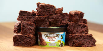 B&J's Choc. Fudge Brownie 100ml