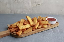 Patatas Fritas Rústicas