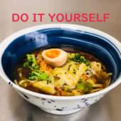 Shoyu yasai do it yourself 醤油野菜ラーメン