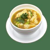 Wantán con chop suey
