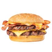 Single Double Bacon Angus 1/4 Libra