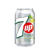 7up free en lata (354 ml.)