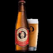 Cerveza La Virgen Madrid Lager Sin Gluten (33 cl. )