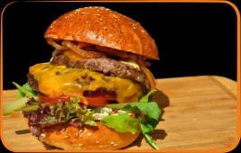 Burger Dublu Cheeseburger