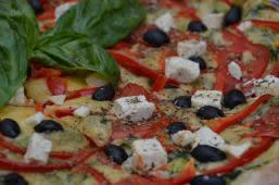 Піца Грецька (23см/400г)