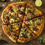 Pizza Jack Daniel´s cremosa (grande)