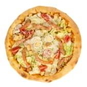 "Пицца ""Цезарь с лососем"""