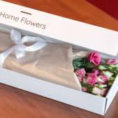 Cutie HomeFlowers 11 lisianthus roz/alb