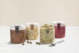 4 barattoli di gelato per te