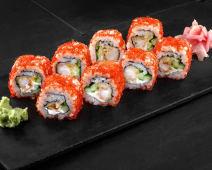 Ebi-ten (sushi roll)