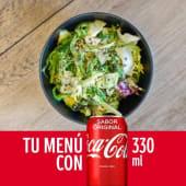 Menú Ensalada Mediano + bebida