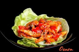 Куряче філе в кисло-солодкому соусі (250г)