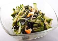 Salade Wakame Concombre