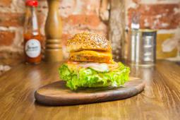 Burger Veggie : légumes confits