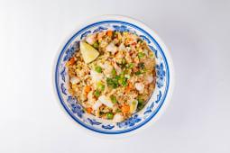 Смажений рис з морепродуктами