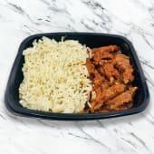 Carne criolla con arroz y hierbas