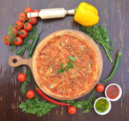 Піца Шашлик зі свинини (32см)