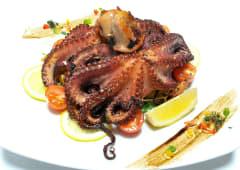 Pečena Jadranska hobotnica s krumpirom