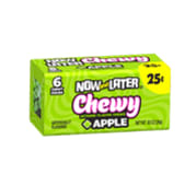 Now & Later Chewy apple