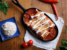 Enchiladas Rojas Pui