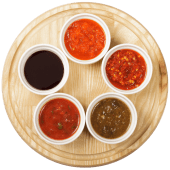 Соус Аджика з томатами (солодка) (30г)
