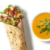 Zestaw Wrap Wege Falafel z zupą