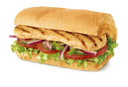 Grilled Chicken Fillet Sandwich 30cm