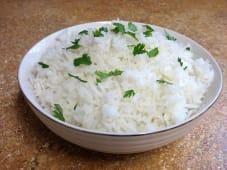 White rice basmati