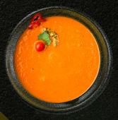 Supă de ardei copt